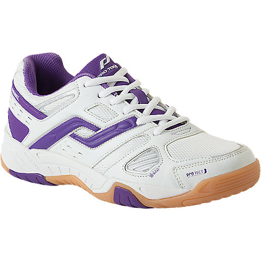 quality design 85718 55d54 Chaussures indoor femme Rebel Blanc-Violet 239576 PRO TOUCH