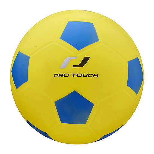 Ballon de football PVC jaune 240417  PRO TOUCH