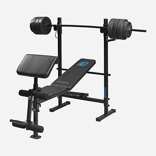 Banc De Musculation Barbell Bench 30 Energetics Intersport
