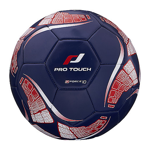 Ballon de football Force 10 bleu-rouge 244022  PRO TOUCH