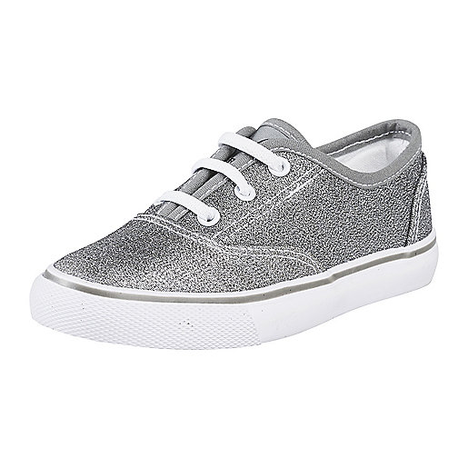 Chaussures en toile enfant Taylor argent 244096  FIREFLY