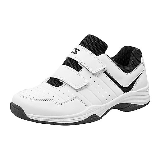 Chaussures de tennis à scratch enfant Net blanc 244277  ITS