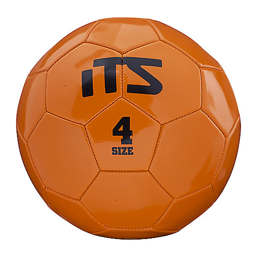 Ballon de football Goal orange-noir 245538  ITS