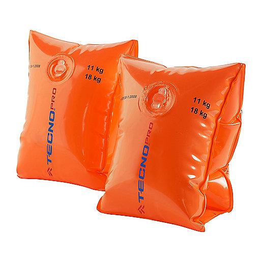 Brassards de piscine 11-18Kg Orange 2500004 TECNO PRO