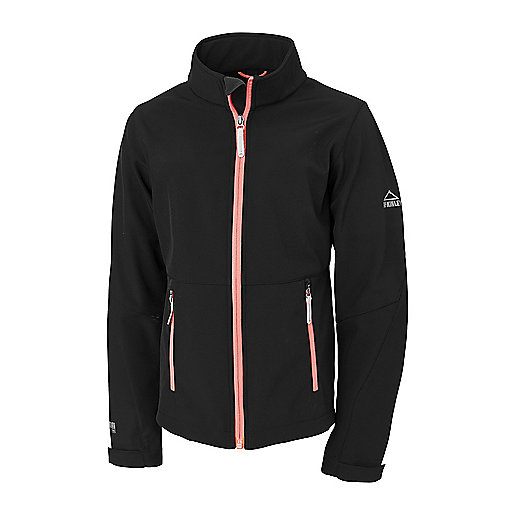 Veste softshell fille Marty Noir 251710  MC KINLEY