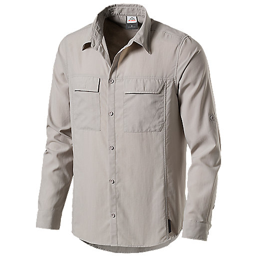 f3a6897dcaaee Chemise manches longues homme Yolla Gris 273526 MC KINLEY