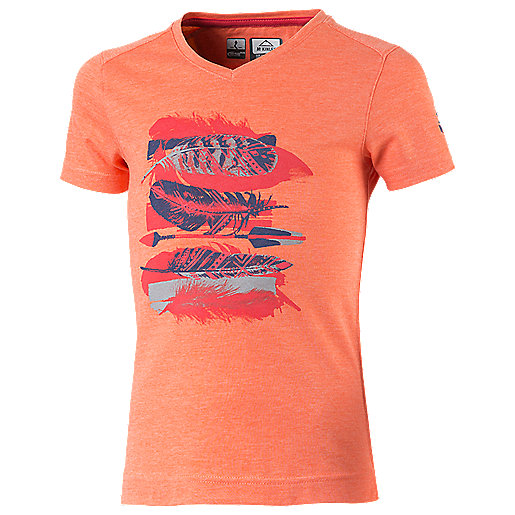 T-shirt manches courtes fille Zaba Multicolore 273528  MC KINLEY