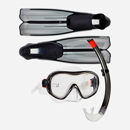 dernier style prix d'usine bien Set de plongée adulte avec masque, tuba et palmes ST3 3 TECNO PRO