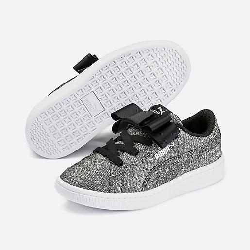 Sneakers fille PS Vikky Ribbon Glitz PUMA