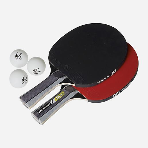 2 raquettes de ping-pong