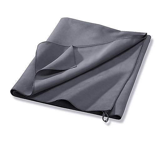 Serviette microfibre Gris 5000011 ITS