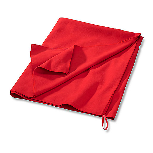 Serviette microfibre rouge 5000014 ITS