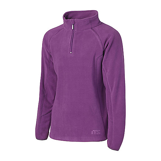 9fdd5ddabb81 Polaire zippée enfant Clippo Violet 5000021 ITS