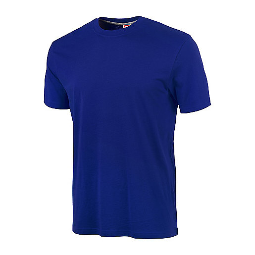 T-shirt manches courtes homme Syston bleu 5000217 ITS