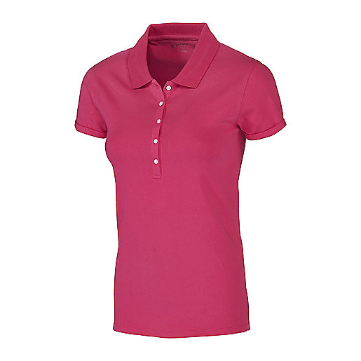Polo manches courtes femme Petunia Rose 5000658 ENERGETICS