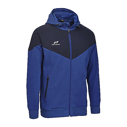 Veste d'entraînement football zippée à capuche homme Core Multicolore 5000970 PRO TOUCH