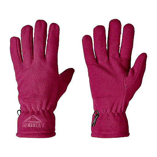 Gants polaires adulte Galbany Violet 5000986 MC KINLEY