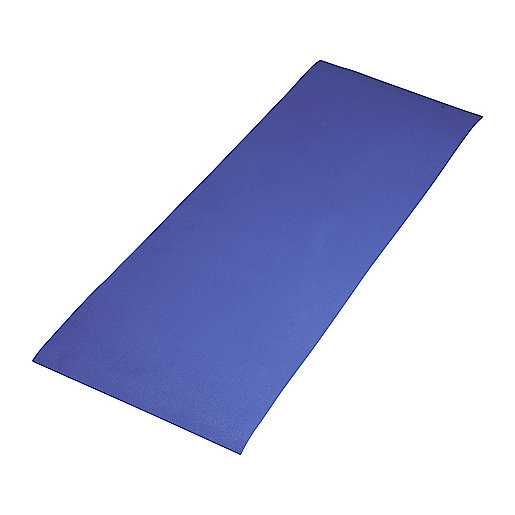 Tapis de gym Basic Gym bleu 5001180 ITS