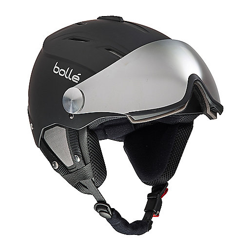 Casque de ski adulte Backline Visor noir 5001230 BOLLE