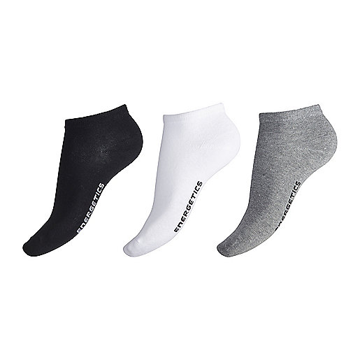 Lot de 3 paires de chaussettes de training Gaby Invisible blanc 5001975 ENERGETICS