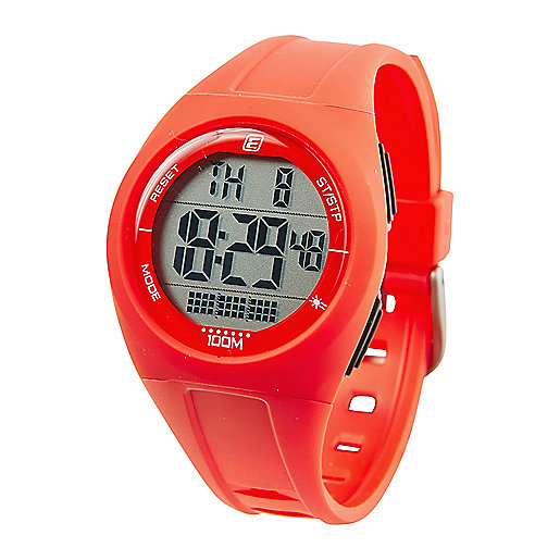 Montre digitale adulte MD 100 Rouge-Blanc 5002085 ENERGETICS