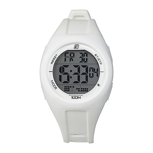 Montre digitale adulte MD 100 Blanc 5002085 ENERGETICS