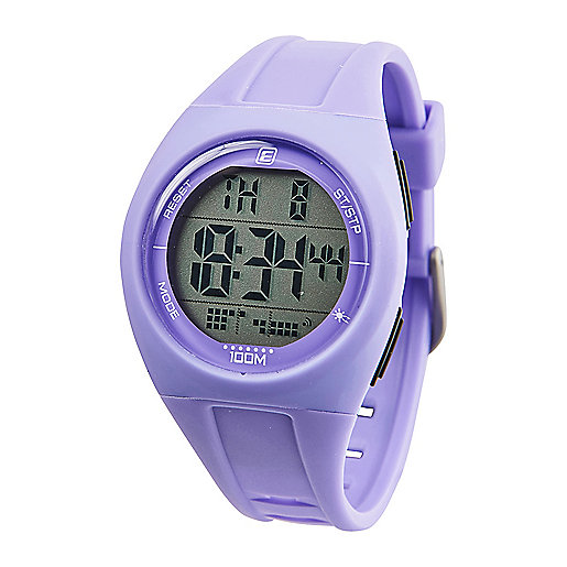 Montre digitale adulte MD 100 Violet-Blanc 5002085 ENERGETICS