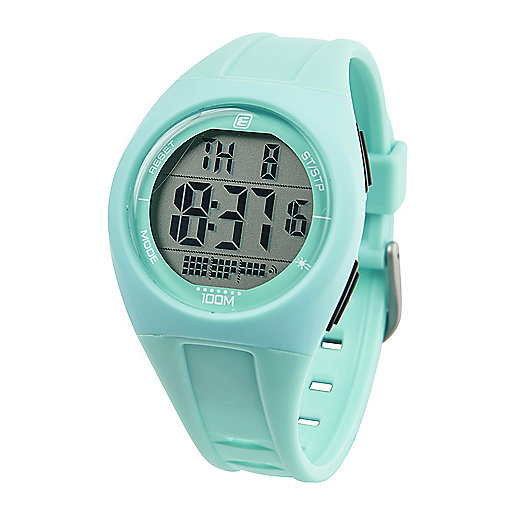 Montre digitale adulte MD 100 Vert-Blanc 5002085 ENERGETICS