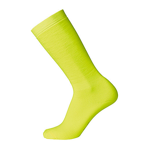 Chaussettes de ski homme Polaire Fluo jaune 5003138 FIREFLY