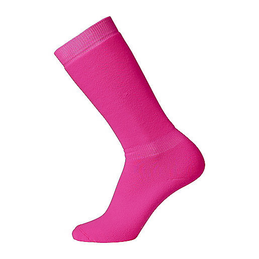 Chaussettes de ski homme Polaire Fluo rose 5003138 FIREFLY