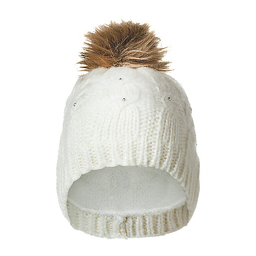 Kinley Blanc Strass Polaire Intersport Mc Bonnet Femme RgtXxnEq a914b6692f6