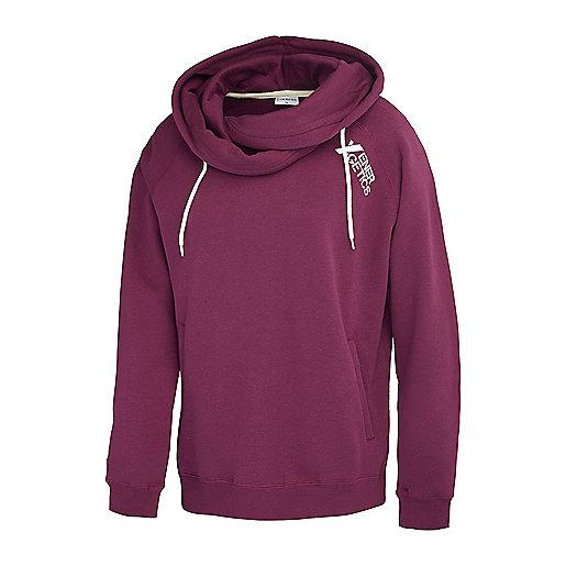 496d691c8d3b Sweatshirt à capuche femme Paris Violet 5003543 ENERGETICS