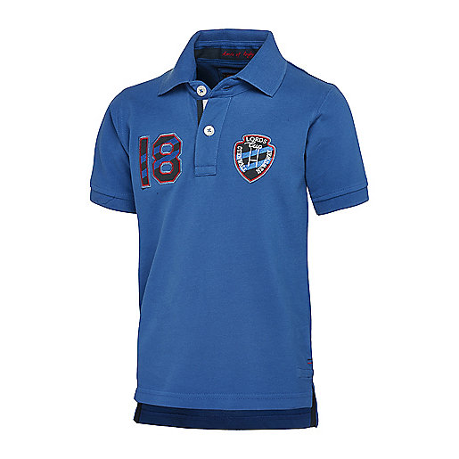 Polo manches courtes garçon Lords Cup bleu 5003667 LORDS OF RUGBY