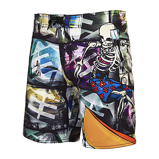 Short de bain garçon Fun Surf multicolore 5003793 FREEGUN