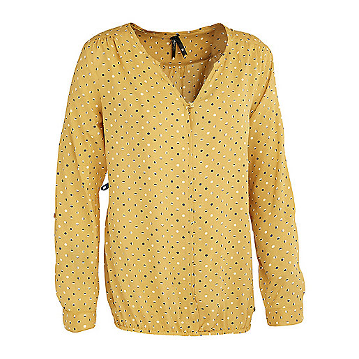 Chemise manches longues femme Muscade jaune 5004356 FIREFLY