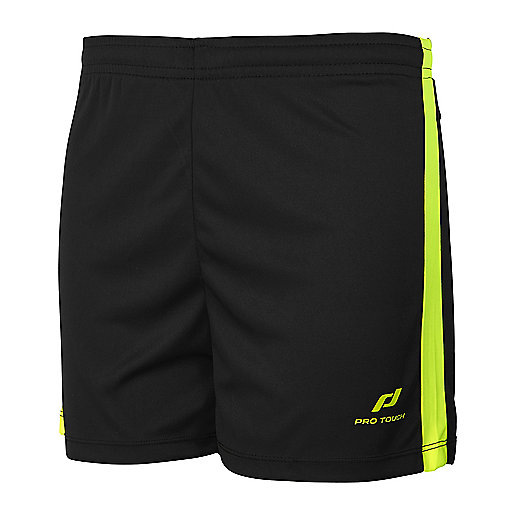 Short de football Speedlite noir-jaune 5004486 PRO TOUCH