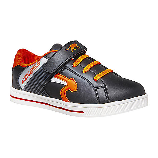 finest selection 2f6b8 8bddf Sneakers enfant Switch Noir-Orange 5004494 AIRNESS