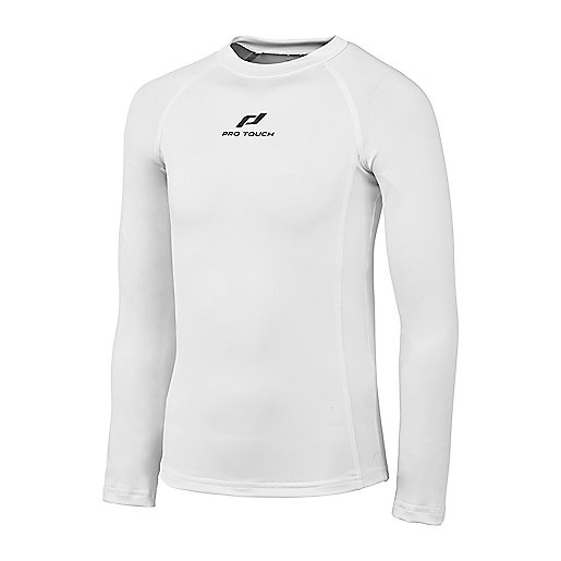 a79b917dd1 Maillot Adulte Tee Thermique Sapel BLANC PRO TOUCH   INTERSPORT