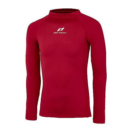 0986a207c2 Maillot Adulte Tee Thermique Sapel ROUGE PRO TOUCH   INTERSPORT