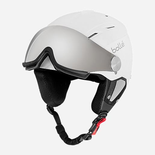 Casque De Ski Avec Visière Backline Soft White Bolle Intersport