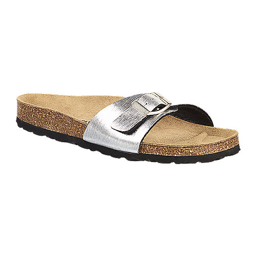 Sandales femme Stacy Strap argent 5005338 FIREFLY