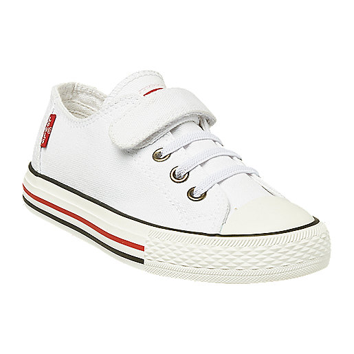 Chaussures en toile enfant Trucker Low Lace Multicolore 5005435 LEVIS KID