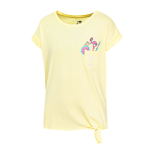 52373d4dfa288 T-shirt manches courtes fille Maeva Multicolore 5007281 FIREFLY