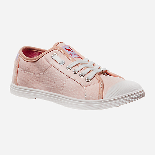 Chaussures en toile femme Rose VICTORIA COUTURE