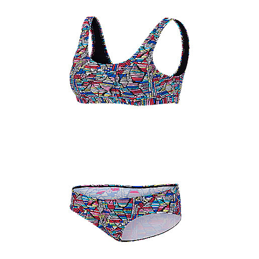2d1db745a8 Maillot de plage 2 pièces femme Tersy Multicolore 5007514 FIREFLY