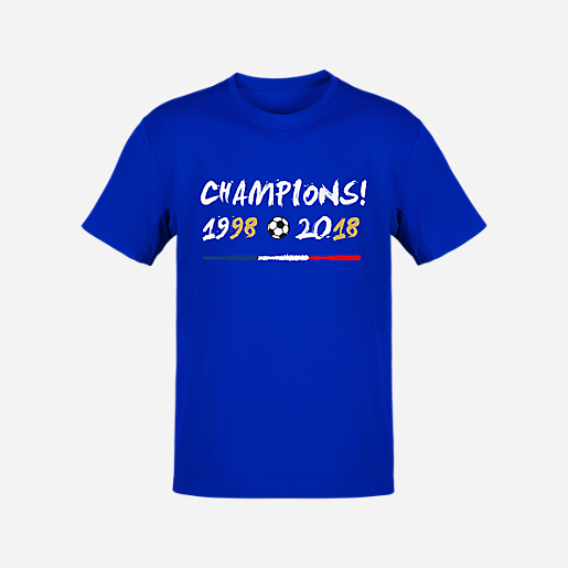 T-shirt Football Manches Courtes Champion BLANC   INTERSPORT e72b66dee78c