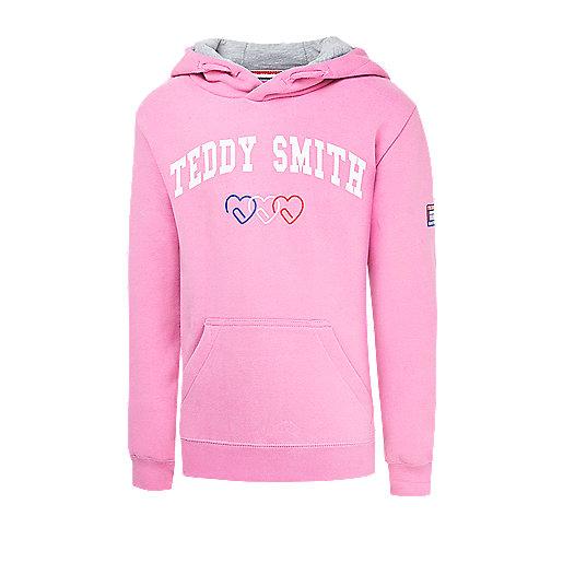 28f9e204e3f4a Sweatshirt à capuche fille Sercio Multicolore 508000D TEDDY SMITH