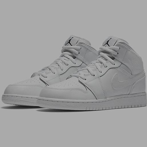 meilleure sélection 7fe73 94c7d Chaussures mi-hautes pour garçon Air Jordan 1 Mid NIKE