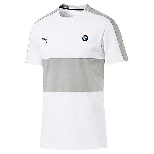 f845adee24d62 T-shirt manches courtes homme BMW Motorsport T7 Multicolore 577786 PUMA