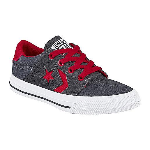 Chaussures en toile garçon Tre Star Ox Noir 651847C CONVERSE e18d9f546c